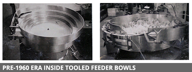 Pre 1960 era feeder bowls